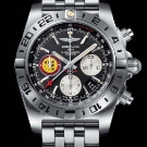 "Breitling Chronomat 44 GMT ""Patrouille Suisse 50th Anniversary"" Watch Front"