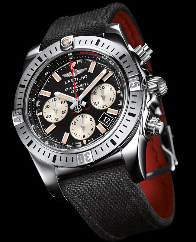 Breitling Chronomat Airborne 44 Black Dial Watch