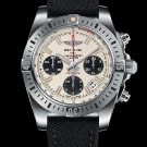 Breitling Chronomat Airborne 41 Silver Dial Watch