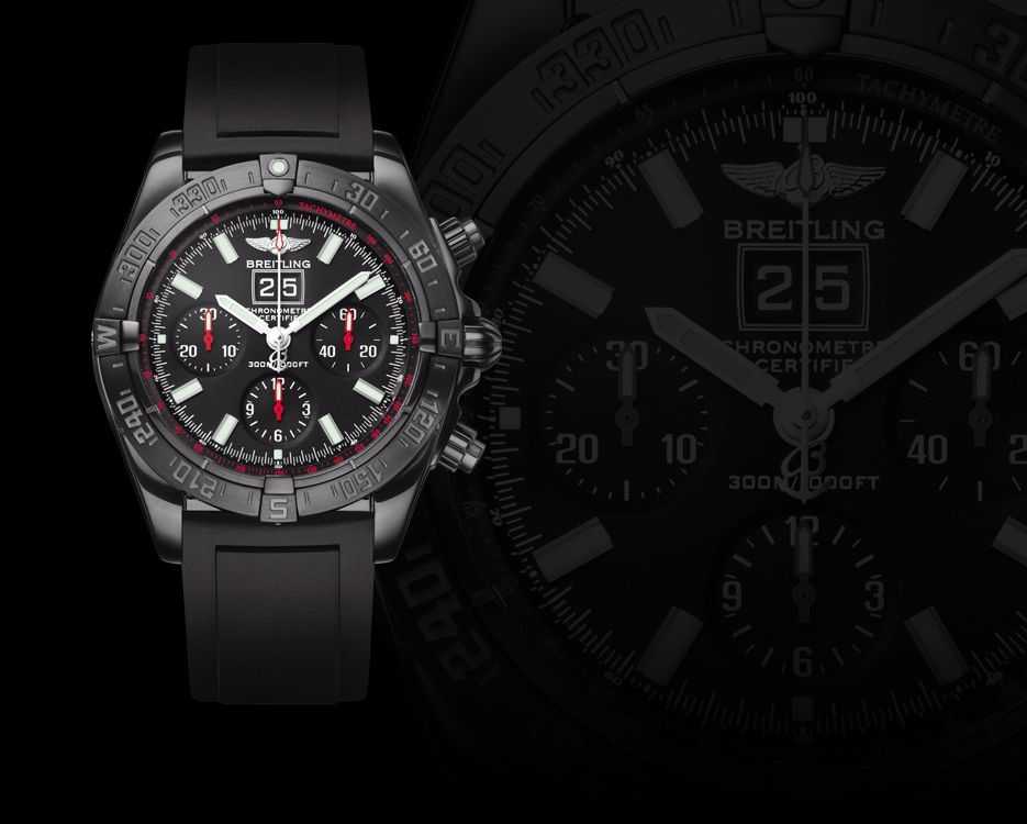 breitling chronomat blackbird watch watch review. Black Bedroom Furniture Sets. Home Design Ideas
