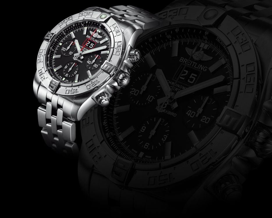 Breitling Chronomat Blackbird Watch