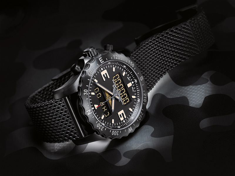 Breitling Professional Chronospace Military Watch