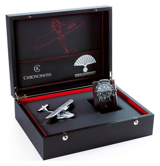 Chronoswiss Timemaster Chronograph GMT S-RAY 007 Watch Box