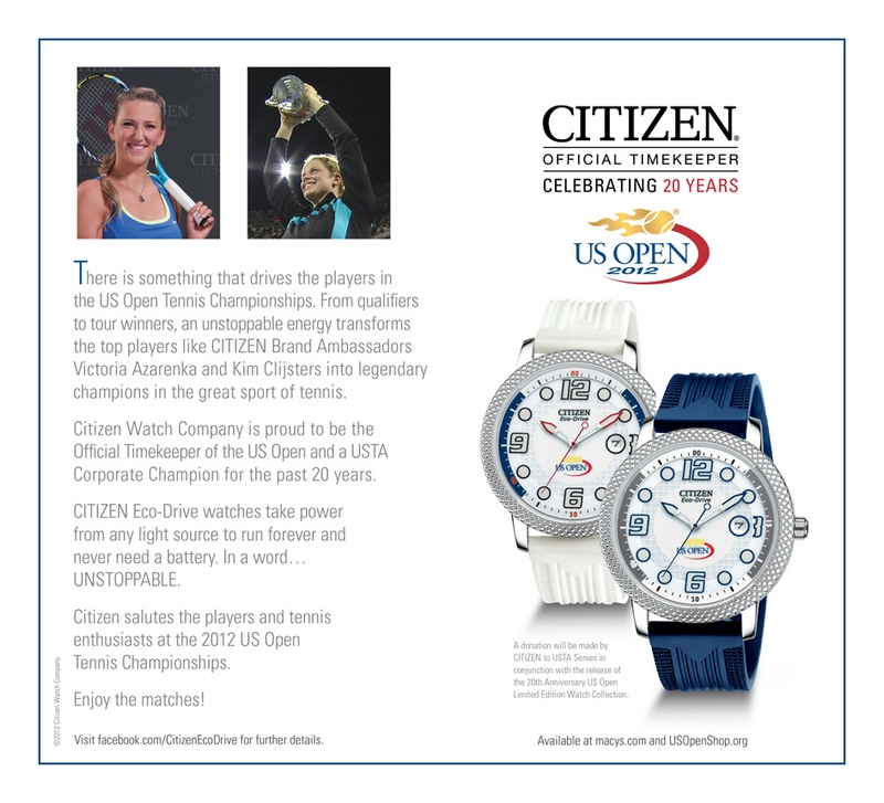 Citizen US Open Watches