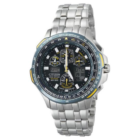 af0312248f4 Citizen Eco-Drive Blue Angels Skyhawk A-T JY0040-55L Chronograph Watch