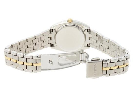 Citizen Eco-Drive Paladion Two-Tone Watch Back