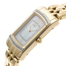Citizen Eco-Drive Stiletto Gold Diamond Accented Watch Side