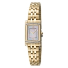 Citizen Eco-Drive Stiletto Gold Diamond Accented Watch