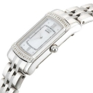 Citizen Eco-Drive Stiletto Silver Diamond Accented Watch Side