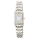 Citizen Eco-Drive Stiletto Silver Diamond Accented Watch