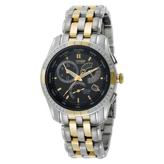 Citizen Eco Drive Two Tone Calibre 8700 Diamond Watch