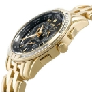 Citizen Eco Drive Gold Calibre 8700 Diamond Watch Side