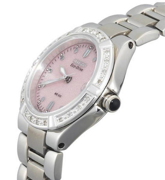 Citizen Riva Eco-Drive Diamond Accented EW0890-58X Watch