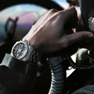 Breitling Professional Cockpit B50 Watch On Hand