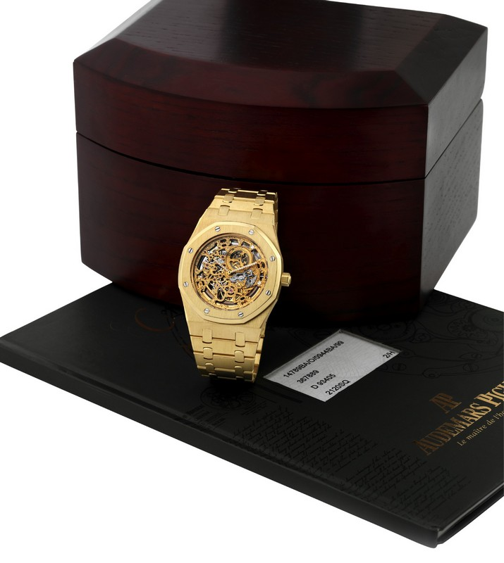 Audemars Piguet Royal Oak Jumbo Skeleton Watch