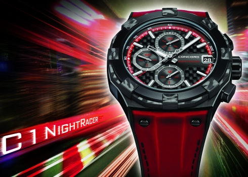 Concord C1 NightRacer Limited Edition Watch Red