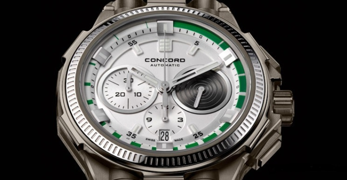 Concord C2 Teknologic Watch Dial