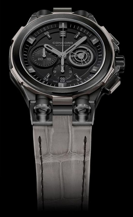 Condord C2 GraffitiGrey Watch