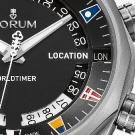 Corum Admiral's Cup Legend 47 Worldtimer Watch - Detail