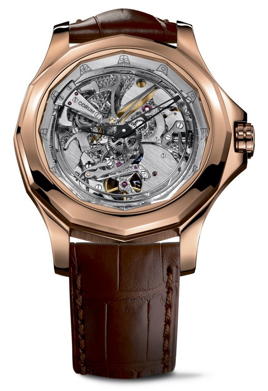Corum Admiral's Cup Legend 46 Minute Repeater Acoustica Watch Red Gold