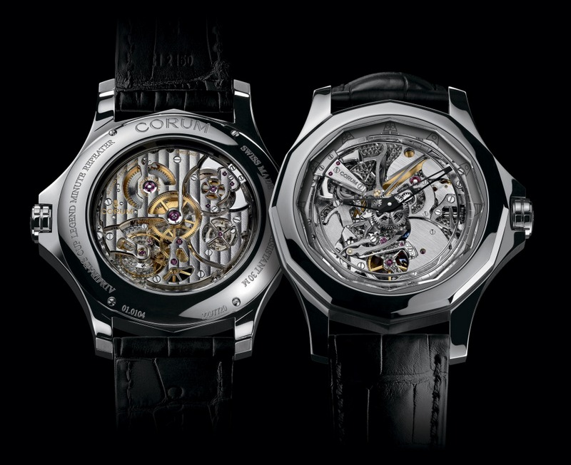 Corum Admiral's Cup Legend 46 Minute Repeater Acoustica Watch Titanium