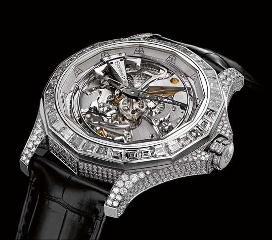 Corum Admiral's Cup Legend 46 Minute Repeater Acoustica Watch White Gold