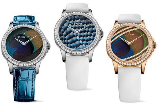 Corum Artisans Feather Watches