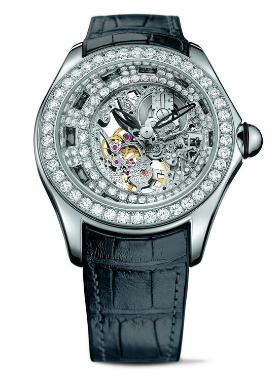 Corum Bubbliamonds Watch Black Sapphires