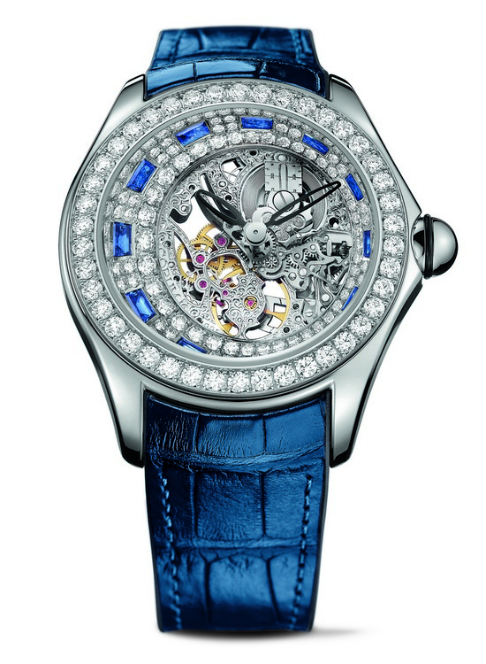 Corum Bubbliamonds Watch Blue Sapphires