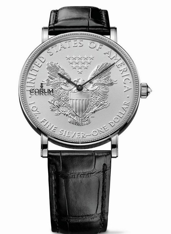 Corum Coin 50th Anniversary Watch American Silver Eagle