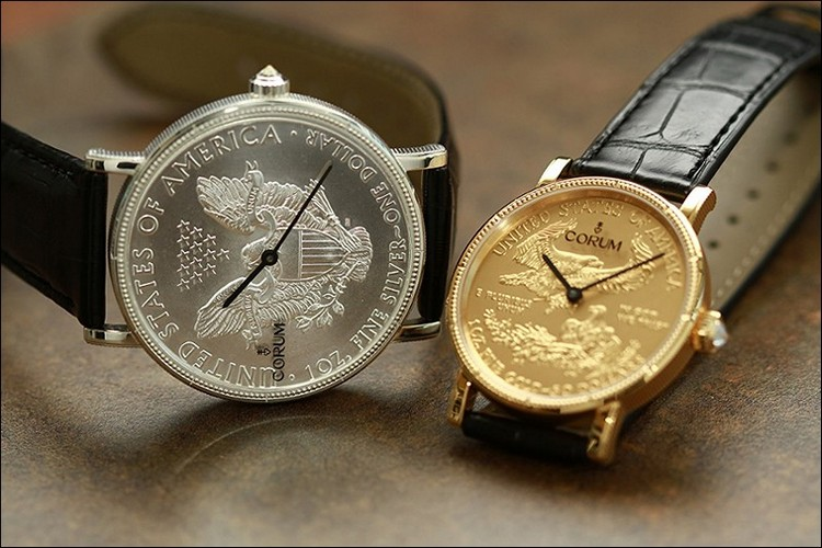 Corum Coin 50th Anniversary Watches