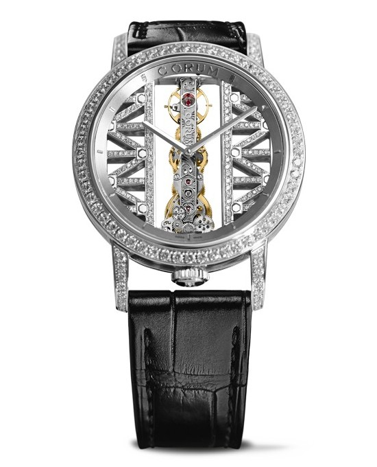 Corum Golden Bridge Round Watch White Gold