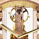 Corum Golden Bridge Round Watch Dial Detail