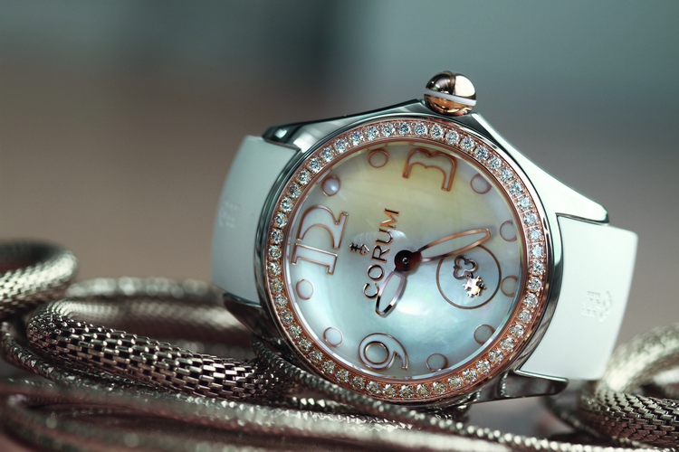 Corum Heritage Bubble Mother of Pearl Watch L295_03052