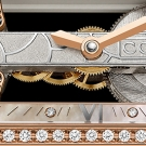 Corum Ti-Bridge Lady Watch Dial