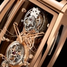 Corum Golden Bridge Tourbillon Panoramique Watch Dial