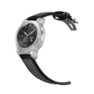 Marc Jenni Prologue Wdt Watch Black Leather Strap Side