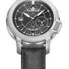 Marc Jenni Prologue Wdt Watch Gray Leather Strap