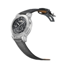 Marc Jenni Prologue Wdt Watch Gray Leather Strap Side