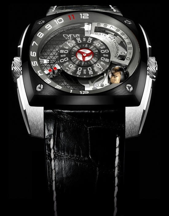 Cyrus Klepcys Piece Unique for Only Watch 2011