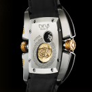 Cyrus Kuros Titanium Red Gold Watch Caseback