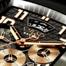 Cyrus Kuros Titanium Red Gold Watch Dial