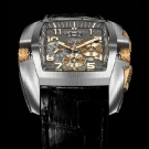 Cyrus Kuros Titanium Red Gold Watch Silver Dial