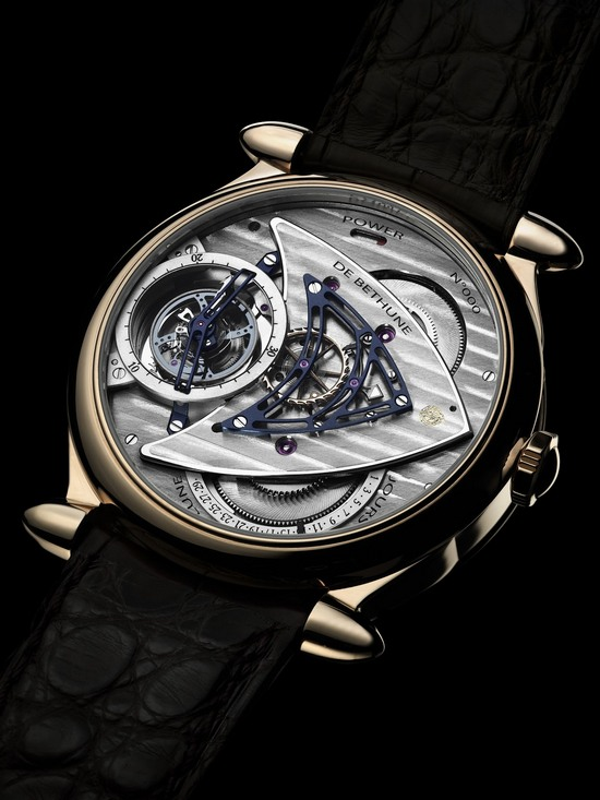 De Bethune DB 16 Tourbillon Regulator Watch Caseback