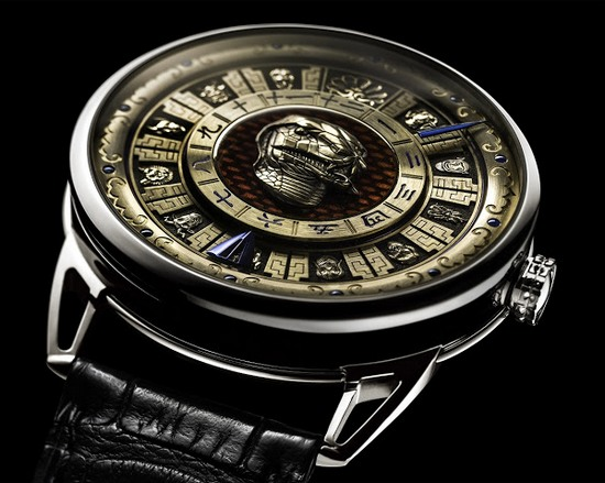 De Bethune DB 25 Imperial Fountain Watch Snake