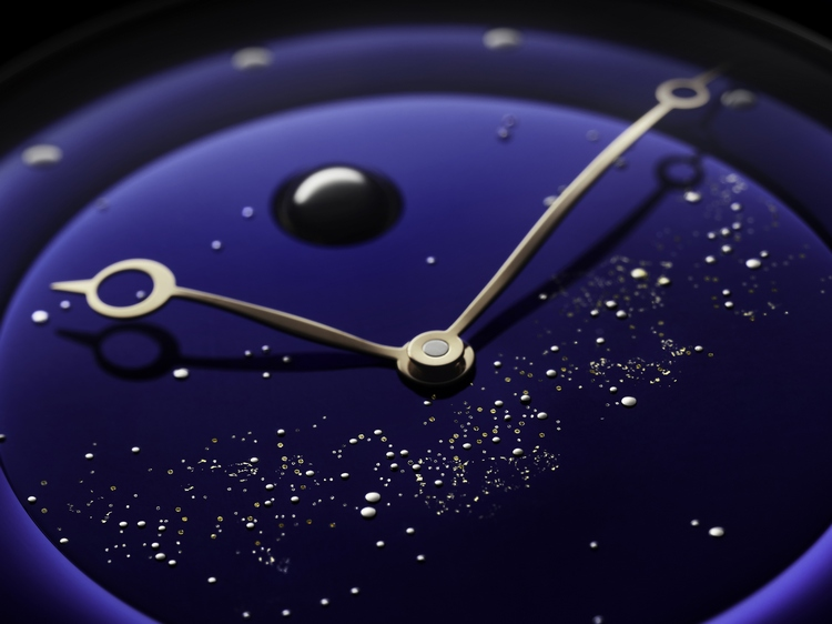 De Bethune DB25L Milky Way Watch Dial