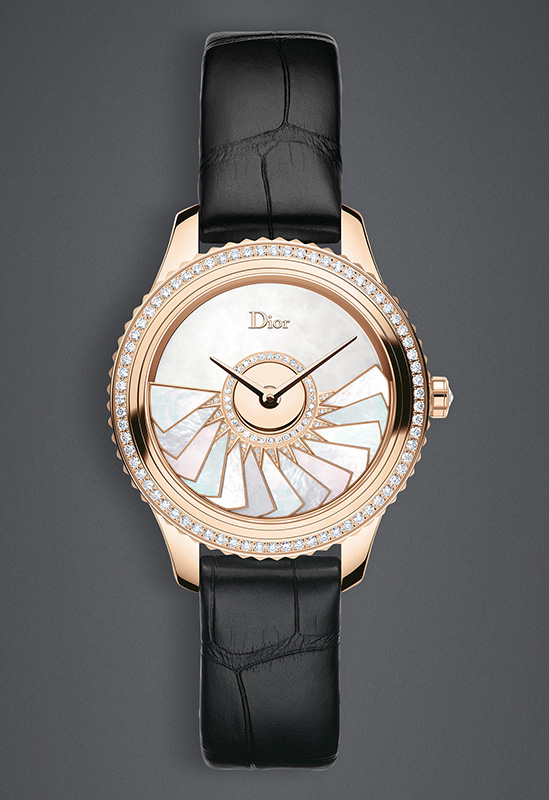 Dior VIII Grand Bal Plissé Soleil Pink Gold CD153b70A001 0000 Watch