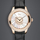 Dior VIII Grand Bal Plissé Soleil Pink Gold CD153b70A001 0000 Watch Front