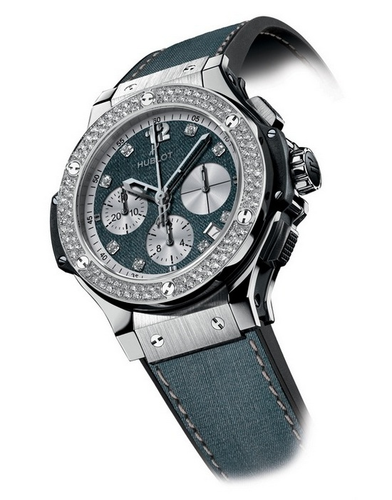 Hublot Big Bang Jeans Diamond Watch