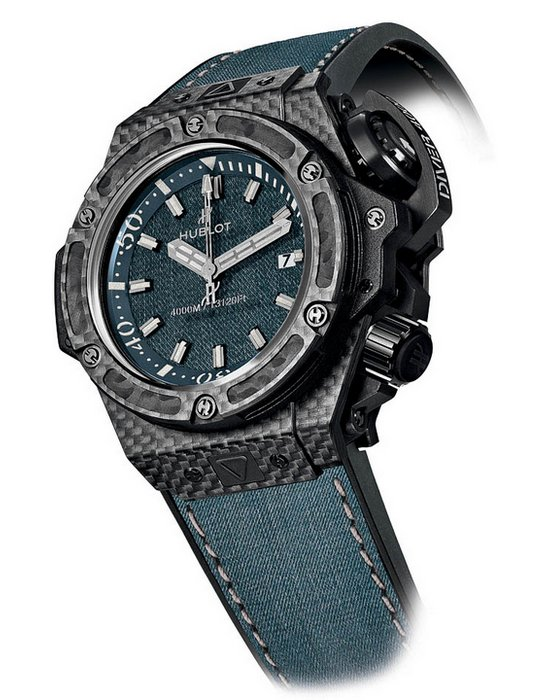 Hublot Oceanographic 4000 Jeans Watch